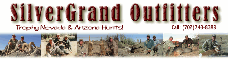 Hunt Arizona or Nevada with SilverGrand!